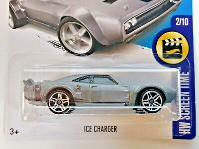 Hot wheels 2017 Screen Time Series The Fate Of The Furious Ice Charger Silver