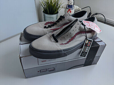 Vans x Nintendo Trainers. UK 9 Grey. Never worn. See description.