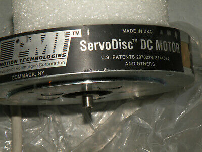 Mydata Kollmorgen N-series Neodymium Servodisc Dc Motor 00-n0953-m02