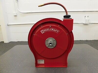 Reelcraft Spring Retractable Hose Reel 50 300 Psi 5650 Olp Damaged