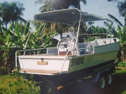 Backyard boat sale