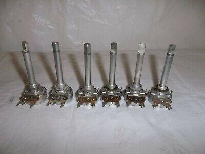 6 Vintage Potentiometer 19a116687p2 Impedance Control Pot Tube Amp