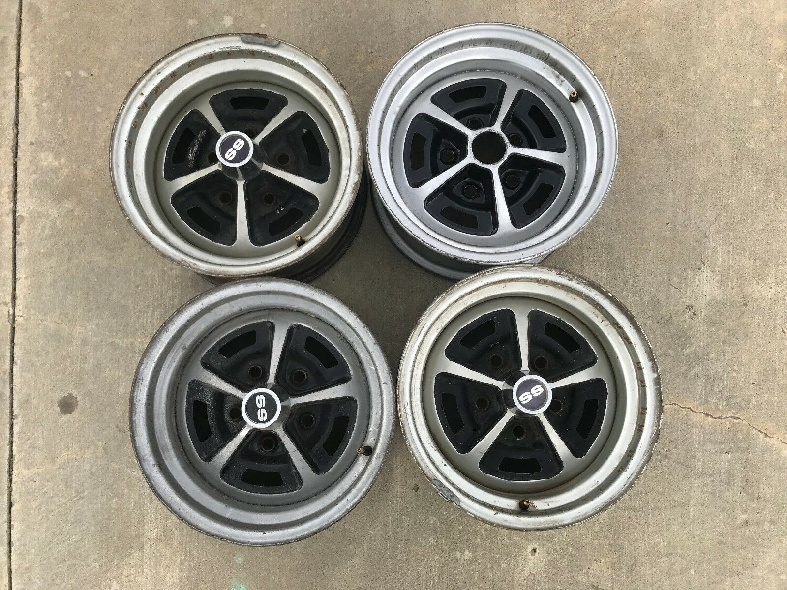 1970 Chevelle SS El Camino Nova Camaro 14 X 7 Wheels Set of 4 AO Rims wheels