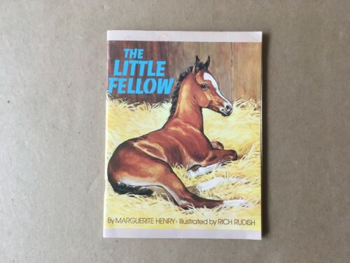 Vintage 1975 THE LITTLE FELLOW Book by Marguerite Henry, Rand McNally, Horses