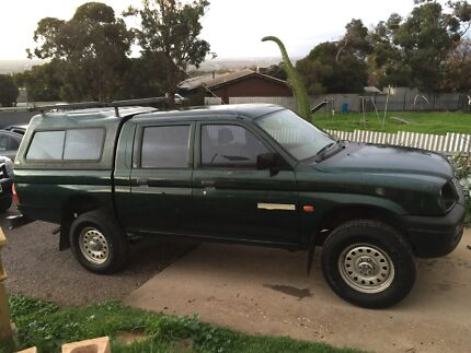 LAST WEEK! Mitsubishi Triton 2000 Dual Cab 4x4 ute Sellicks Beach Morphett Vale Area Preview
