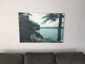 Frameless Wall Art - First Lake, Sackville