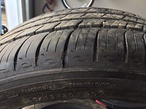 P245/45/20 x 4 Michelin Primacy mxm4 tires