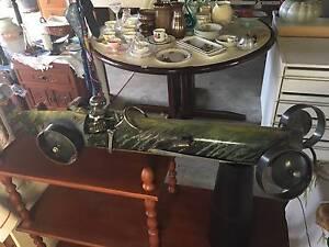 metal retro racing car sculpture car part art Albany Creek Brisbane North East Preview