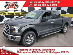 2016 Ford F-150 XLT, Quad Cab, Automatic, Back Up Camera, 4x4