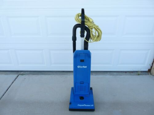 Clarke Carpetmaster 215 Commercial Upright Bagged Vacuum Cleaner