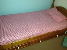 ** Price reduced! Bunkers single bed with Underbed Drawers Windradyne Bathurst City Preview