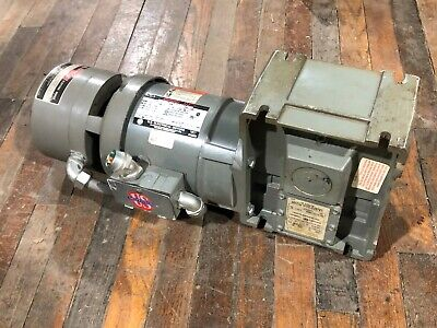 Us Electric Unimount 125 56c .75hp Gear Motor Speed Reducer Torqube 401 Ratio