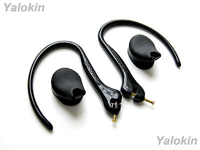 2 Earhooks with Metal Pins and 2 Eartips for Plantronics Explorer 240 360 370