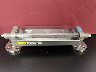 Fischer Porter Abb 10a4656xbmced 10a46557 1 Glass Tube Rotameter Flowmeter