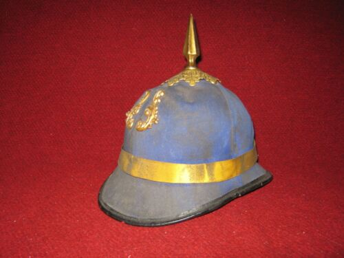 Antique Fraternal  Knights of Pythias Spiked Ceremonial Helmet