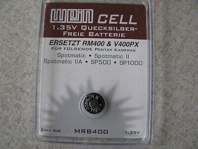 5x Wein Cell V400PX RM400 Batterie Battery 1,35V für Pentax Spotmatic ...