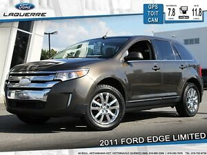 2011 Ford Edge Limited AWD **CUIR*TOIT*GPS*CAM**