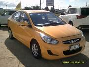 2014 HYUNDAI ACCENT ACTIVE  AUTO Launceston Launceston Area Preview
