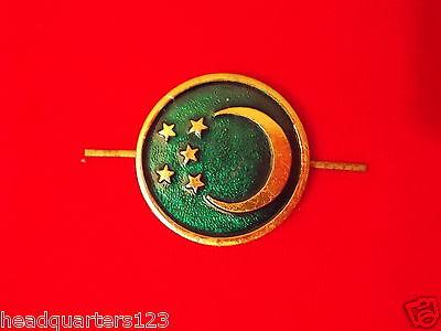 CA UDSSR Sowjetunion Abzeichen Mützenabzeichen Armee Soldat TURKMENIEN (rund)
