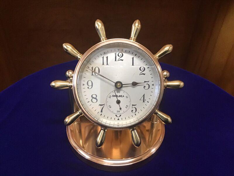 "1946 Chelsea ""Clinton"" Desk Clock"