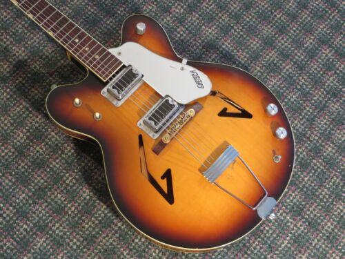 Vintage 1967 Gretsch USA 711 Songbird Guitar Sunburst! Sam Goody! RARE! w/OHSC