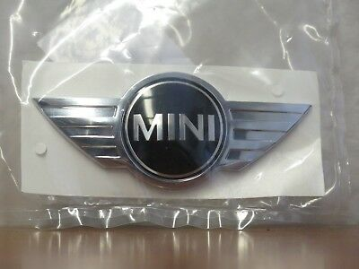OEM Mini Cooper Base Wings Logo Front Emblem 2007 - 2009 R56 R55 R57 51142754972