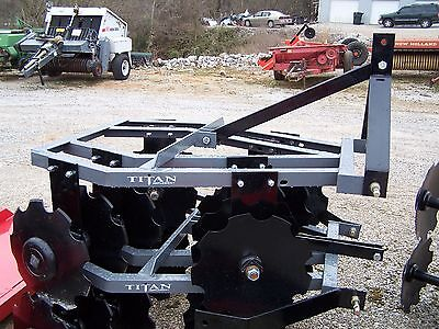 New 12x16 Titan 4 12 Ft. 3 Point Disc Harrow We Can Ship Ask For A Quote
