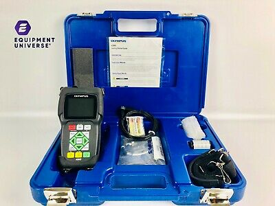 Olympus Panametrics 45mg Thickness Gauge Ultrasonic Flaw Tester Ndt Ge Gage Hot