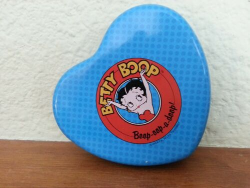 Betty Boop Heart Shaped Tin 1995 King Features Syndicate, Valentine