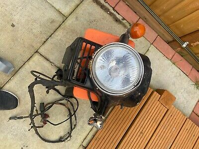 Honda Cx 500 Headlight And Wiring Loom