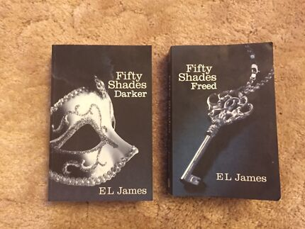 Fifty Shades Darker and Freed by EL James Lower Inman Valley Victor Harbor Area Preview