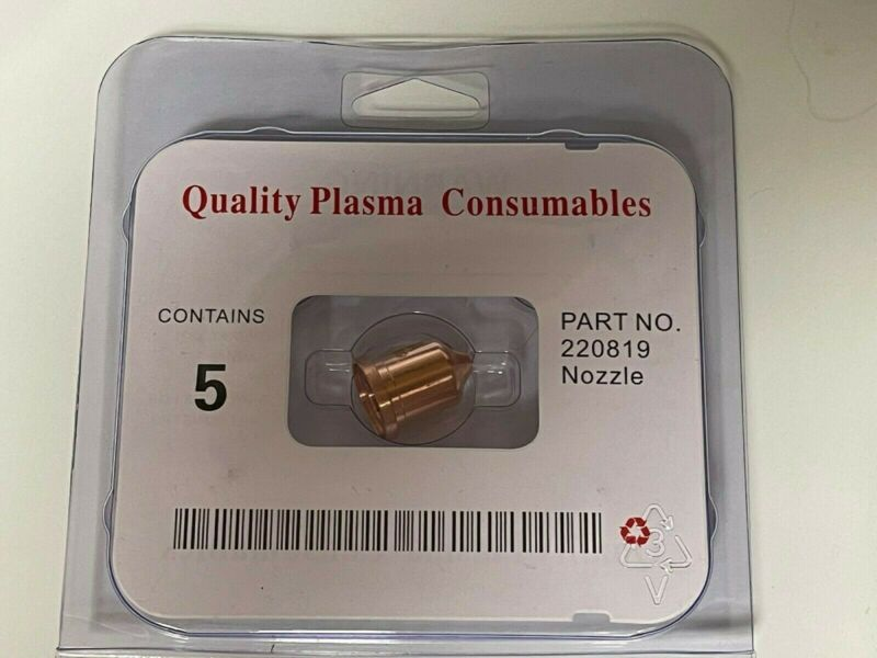"""220819 5Pcs for Hypertherm Plasma Cutter, Nozzle tip 65 Amp """"NEW""""USA Shipping"""