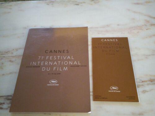 Cannes 71st Festival Official Program & Handbook Guide 2018 - Festival De Cannes