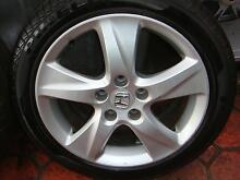 "Set Of 17"" Genuine Honda Accord Euro 5 Stud x 114.3 Pattern Only Green Valley Liverpool Area Preview"