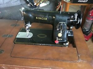 Antique Sewing Machine/Table