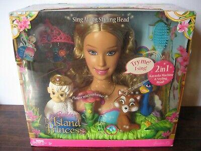 Barbie Rosella (BARBIE as Island Princess: Princess Rosella Talking & Singing Styling Head)