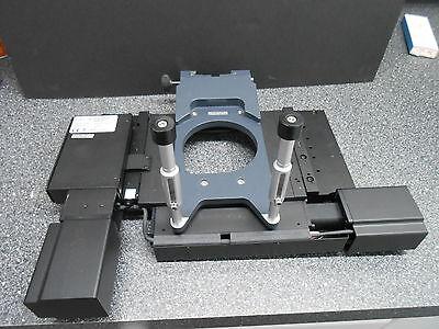 Prior H1p1alsmb 114 X 75mm Motorized Scanning Microscope Stage Zeiss Bracket