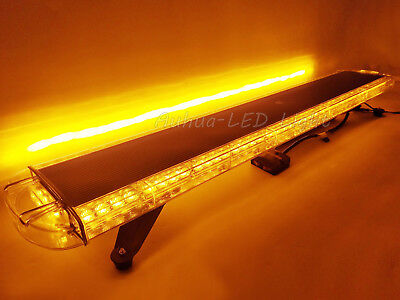 Amber Led 47 Emergency Warning Roof Flashing Tow Truck Wrecker Strobe Light Bar