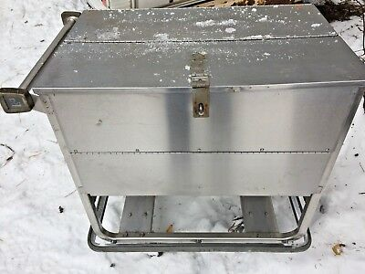 Lakes Imperial 705 Stainless Steel Enclosed Style Dish Truck Cart Used