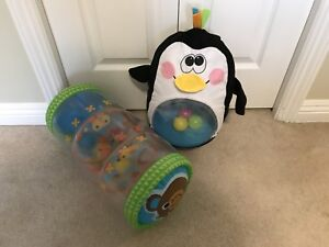 Fisher Price Penguin and Roll Ball $25