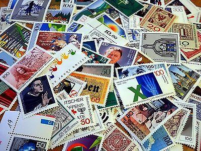 150 postfrische Briefmarken BRD Deutschland mit Randstücken!
