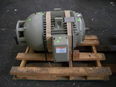 60 Horsepower Ge Electric Motor New 3 Phase C Face Ge 5ks364saa256 Tefc Hp