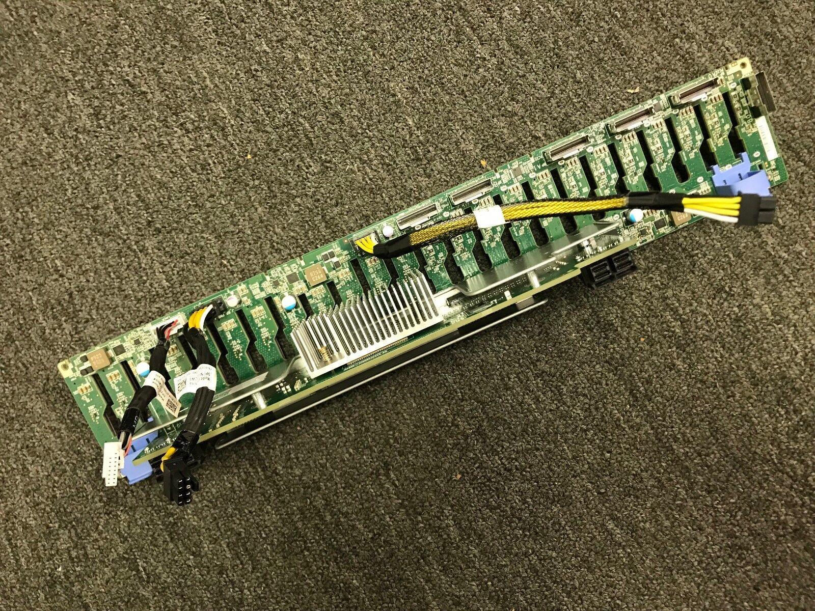 """DELL POWEREDGE R740 R740XD 2.5/"""" x 24 BAY LFF BACKPLANE P1MJ3 58D2W K2Y8N MMDW2"""