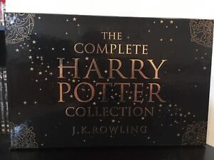 Harry Potter - Complete Book Set (never used)