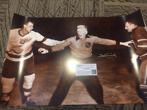 Various NHL Autographed Pictures