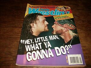 Inside-Wrestling-May-1997-Hulk-Hogan-Giant-HBK-Bret-Undertaker-Nice-Magazine-WOW