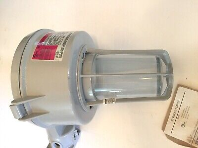 New Appleton Explosion Proof Lightlamp Fixture Kpwbl1075-gmt Wall Mount Fixture