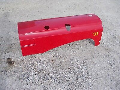 Massey Harris 33 Tractor Original Repainted Mh Hood Engine Motor Cover