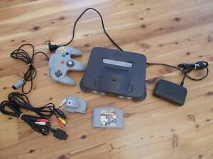 Nintendo N64 Console and Accessories Gooseberry Hill Kalamunda Area Preview