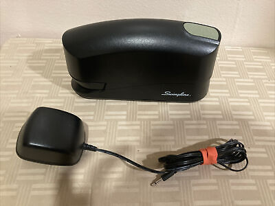 Swingline Electric Stapler Model 421xx Black With Ac Adapter Tested Working